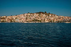 Higgledy-piggledy....... (Dafydd Penguin) Tags: higgledy piggledy town city hill water sea waterfront harbour harbor port dock island greece saronic gulf buildings leica m10 35mm summicron f2