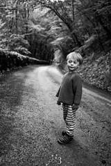 RUBEN (Phil3 (ex Bassapower)) Tags: family copyright ruben phil3 philippepichard portrait blackandwhite kids forest toddler noiretblanc path enfant