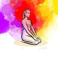 Simple Yoga Pose (Hebstreits) Tags: background body calm concentration design drawing energy exercise figure fitness girl green handdrawn health healthy human icon icons illustration isolated leisure lifestyle logo lotus man meditate meditating meditation people pictogram pose position relax relaxation sign silhouette simple sketch spiritual sport stick symbol tree vector wellness white woman workout yoga zen