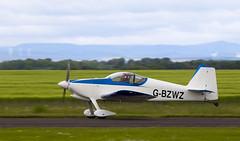 G-BZWZ RV-6, Scone (wwshack) Tags: egpt psl perth perthkinross perthairport perthshire rv6 scone sconeairport scotland vans gbzwz