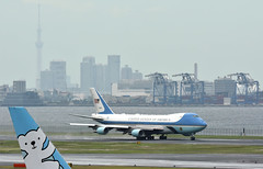 USAF 92-9000, Boeing VC-25A, 747-2G4B at HND (tokyo70) Tags: japan travel tour tokyo unitedstatesairforce vc25a