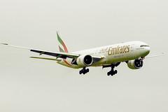 A6-EQL   Emirates   Boeing B777-31H(ER)   CN 42360   Built 2018   DUB/EIDW 29/04/2019 (Mick Planespotter) Tags: aircraft airport 2019 dublinairport collinstown b777 nik sharpenerpro3 a6eql emirates boeing b77731her 42360 2018 dub eidw 29042019 flight
