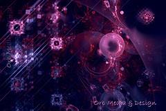 Red Tide (Gypsy_Orb) Tags: blue red sea white abstract black color art geometric contrast digital photoshop purple graphic patterns australia melbourne victoria saturation fractal apophysis redtide orbmd orbmediadesign photomanipulation abstractart digitalart depthoffield illusion math worlds imagine layers create trippy shape infinite spherical transform fractalart geometricart
