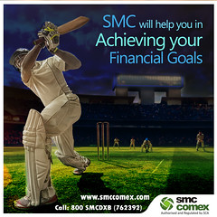 ICC World Cup - Achieve Financial Goal with SMC Comex Dubai (smccomex) Tags: