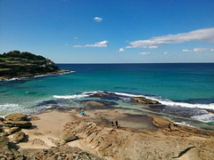 Near Bronte Beach, Sydney, Australia (runslikethewind83) Tags: bronte beach ocean sea australia nature blue oz aussie landscape seascape travel oceania explore