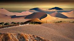 Un nuovo mondo (Zz manipulation) Tags: art ambrosioni zzmanipulation deserto campagna dune nubi arare sabbia arancio