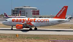 G-EZAW LMML 27-05-2019 easyJet Airbus A319-111 CN 2812 (Burmarrad (Mark) Camenzuli Thank you for the 19.1) Tags: gezaw lmml 27052019 easyjet airbus a319111 cn 2812
