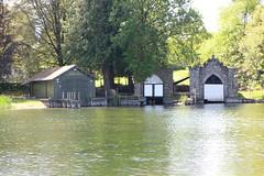 Boathouses (Colin McAlpine) Tags: lakedistrict newbybridge boathouses