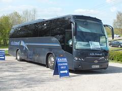 MH08 CUX Beulas Cygnus - R. B. Travel (Ray's Photo Collection) Tags: tenterden mh08cux cygnus rbtravel beulas kesr kenteastsussexrailway coach