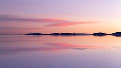 Salar De Uyuni at Sunset, Bolivia (pgpicture) Tags: bolivia saltflats landscape sunset reflections salar salardeuyuni uyuni