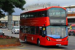 LK16 HZS, London Heathrow, September 9th 2016 (Southsea_Matt) Tags: lk16hzs vwh2223 route140 metroline wright streetdeck volvo b5lh lhr egll londonheathrow greaterlondon england unitedkingdom canon 60d september 2016 autumn bus omnibus transport vehicle