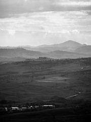 Early morning from Montalcino (rowteight) Tags: montalcino italy tuscany valdorcia europe places
