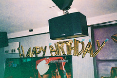 (埃德溫 ourutopia) Tags: film maco tcs eagle 400 macotcseagle macotcseagle400 yashica t2 t3 t4 t5 expiredfilm filmphotography analog analogphotography party birthday happybirthday balloon ktv karaoke フィルム