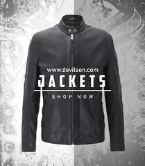 Visit-for-handsome-look-leather-jacket-for-men (devilsondotcom) Tags: leather jackets