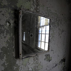 Reflects Poorly (95wombat) Tags: abandoned decayed dusty neglected forlorn psychiatric hospital massachusetts