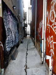 Safe Haven (Keith of Loxley) Tags: alley s7 samsung chinatown graffitti