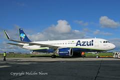 A320-251N VQ-BXO (PR-YYF) AZUL (shanairpic) Tags: jetairliner passengerjet a320 airbusa320 shannon iac eirtech gecas azul vqbxo pryyf
