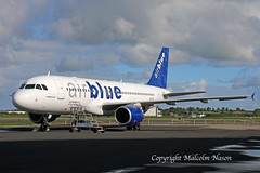 A320 OE-IGT (AP-BNV) AIR BLUE ) (shanairpic) Tags: jetairliner passengerjet a320 airbusa320 shannon iac eirtech airblue oeigt apbnv