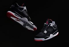 Air Jordan 4 Retro - Black cement. (Andy @ Pang Ket Vui ( shootx2 )) Tags: retro air jordan 4 aj4 release og bred color sneaker shoes flight