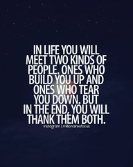 In life you will meet two kinds of people (quotesoftheday) Tags: in life you will meet two kinds people delivered by feed43 service