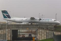 C-GDEN (rcspotting) Tags: cgden bombardier dash 8 q400 westjet airlines yyz cyyz