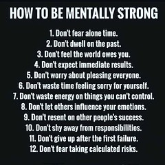 How To Be Mentally Strong (quotesoftheday) Tags: how to be mentally strong delivered by feed43 service