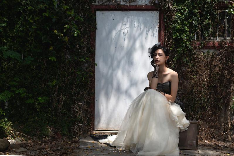 台南婚攝 | 歐式莊園婚紗外拍,復古面紗透露高冷名媛神秘感 6
