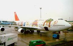 Northwest-Airlines N670US Boeing 747-451 at Amsterdam AMS Netherlands (thelastvintage) Tags: northwestairlines n670us boeing 747451 amsterdam ams netherlands