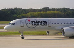 Northwest N5431US Boeing 757-251 at Tampa TPA Florida USA (thelastvintage) Tags: northwest n5431us boeing 757251 tampa tpa florida