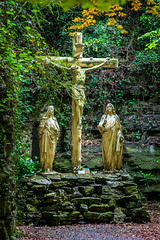 Croix de la grotte d'allain à Tournai (musette thierry) Tags: calvaire musette thierry culte grotte carriére nikon d800 religion composition capture