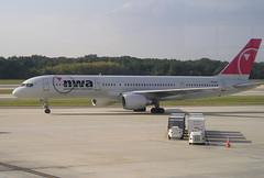 Northwest N5431US Boeing 757-251 at Tampa TPA Florida USA (thelastvintage) Tags: northwest n5431us boeing 757251 tampa tpa florida usa