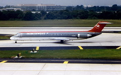 Northwest-Airlines N766NW DC-9-51 at Tampa TPA Florida USA (thelastvintage) Tags: northwestairlines n766nw dc951 tampa tpa florida usa