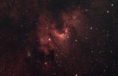 The Cave Nebula (AstroBackyard) Tags: cave nebula astrophotography space astronomy telescope stars night sky cepheus constellation caldwell 9 deep universe cosmos