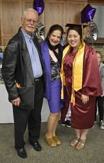 Graduation Reception - Homeschool Co-op (Pictures by Ann) Tags: sophia senior graduation highschoolgraduation homeschool homeschoolgraduation graduationreception reception capandgown marooncap maroongown tassel 2019 classof2019 goldstole honorstole cords maryb honorcords stole
