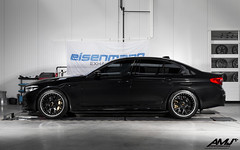 BMW M5 F90 with BBS CH-R II wheels and Sterckenn carbon fibre parts (www.amj-performance.pl) Tags: bmw m5 f90 bbs chr ii chrii satinblack wheels 20sterckenncarbon fibre parts amjperformance workshop warsaw poland 3d gold center caps