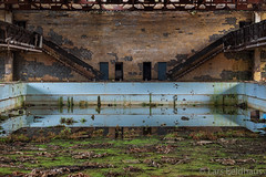 ...olympic spirit. (lars feldhaus) Tags: abandoned decay defacto roadtrip travel swimming pool nature