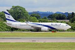 4X-EKL 2 Boeing 767-85PW El Al Israel Airlines MAN 28MAY19 (Ken Fielding) Tags: 4xekl boeing b73785pw elalisraelairlines aircraft airplane airliner jet jetliner