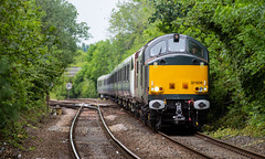 ROG Class 37/6 no 37608 approaches Kirkby-In-Ashfield on 29th-05-2019 with Crossrail stock Worksop bound for storage (kevaruka) Tags: kirkbyinashfield nottinghamshire 37608 rog railoperationsgroup europheonix class37 trains train tractor syphon growler britishrail networkrail tree trees green yellow spring 2019 29052019 may clouds cloudy cloud cloudyday colour colours color colors canon canoneos5dmk3 canon5dmk3 canon70200f28ismk2 5d3 5diii 5d 5dmk3 telephoto telephototrains england englishelectric countryside outdoors