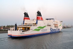 Skane. Wernemunde 240419 (silvermop) Tags: ship boats ships sea ferries roro wernemunde skane