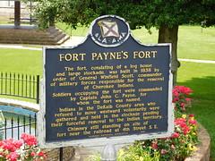 Fort Payne's Fort Historic Marker (jimmywayne) Tags: alabama fortpayne ftpayne dekalbcounty historic marker fort