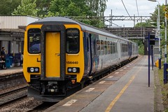 Northern 156440 (Mike McNiven) Tags: arriva railnorth northern dmu diesel multipleunit sprinter supersprinter manchester airport manchesterairport liverpool limestreet healdgreen