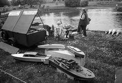 The fleet's all in (adamnsinger) Tags: leica cl film kodak verulamium park st albans model boats porta 160 minolta cle m
