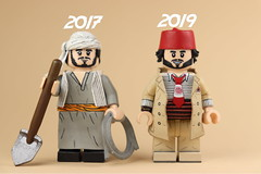 Custom LEGO Indiana Jones Sallah: ROTLA & IJLC (Will HR) Tags: lego custom indiana jones raidersofthelostark last crusade sallah