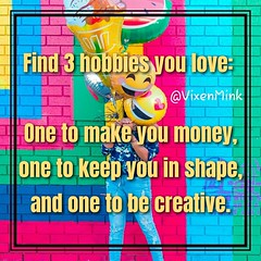 Happy Hobbies 5/29 (VixenMink) Tags: dailyposts advantages aimhigh checkingin experience goalsetting happy hobbies horizon inspirational inspirationalquotes junegoals mindset morninginspiration motivation motivational motivationalquotes quoteoftheday reachforthestars staytrue success takeaction vmquotes wednesdayinspiration wednesdaymotivation wednesdayquotes wednesdaythoughts vixenmink