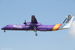 G-PRPF (Baz Aviation Photo's) Tags: gprpf bombardier dash8 q400 flybe bee be heathrow egll lhr 27l be2103