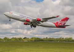 747 Pretty Woman (ukmjk) Tags: 747400 virgin atlantic pretty woman manchester airport nikon d500 tamron 16300 vc plane aircraft civil passenger takeoff cloud