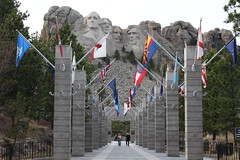 Mount Rushmore National Memorial in South Dakota (Hazboy) Tags: hazboy hazboy1 keystone south dakota mount rushmore west western us usa america april 2019 presidents president