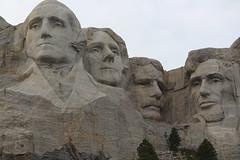 The four presidents at Mount Rushmore, South Dakota (Hazboy) Tags: hazboy hazboy1 keystone south dakota mount rushmore west western us usa america april 2019 presidents president