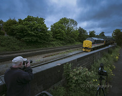 Two Plus Two. (-Metal-M1KE-) Tags: 6d95 37419 37059 waterorton waterortonjunctioneast ee englishelectric 12csvt class37 37 thirtyseven