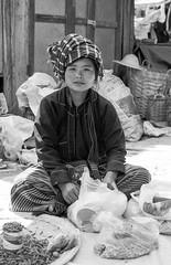 Lac Inle (Tangible_HTS) Tags: birmanie burma myanmar asie asia travel voyage backpacking analog pellicule film minolta srt100x srt200 rokkor f14 ilford delta100 inlelake inle portrait noirblanc nb bw blackwhite
